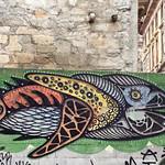 Street art of fish... thumbnail