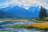 Vermilion Lakes (Georgi Marinov) Tags: banff jasper nationalparks canada alberta canadianrockies canoneosm3 vermilionlakes lake sunsets