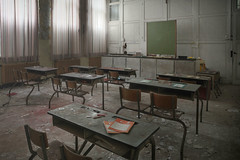 Abandoned School (Andre govia raw single shot) Tags: abandoned andre govia school classroom decay decayed dust derelict urbex urban ue