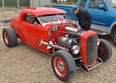 Red or Dead.. (Harleynik Rides Again.) Tags: v8 ford coupe hotrod customcar harleynikridesagain explore