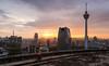 Blade Runner (TotoFABRE) Tags: kualalumpur malaysia malaisie menara heli tower sunset soleil skyline building fujifilm fuji xm1