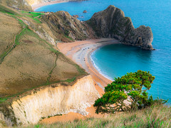 Somewhere..guess where (manolache_manolache) Tags: special trip landscape panasonicgx8085 panasonic panasonic714mm panasonic714 43mm 43 sea ocean night moon clouds greem bush bath uk dorset england scene nature beauty estuar boats people boat blue lagoon formations photography scape serene light color landscapephotography peaceful