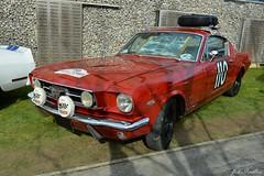 1966 Mustang GT Jean-Pierre Gaban / Christian Delferier (pontfire) Tags: 1966 mustang gt jeanpierre gaban christian delferier rallye de picardie route du nord