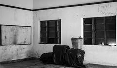 Classroom (_hq_) Tags: monochrome classroom abandoned derelict hongkong blackandwhite