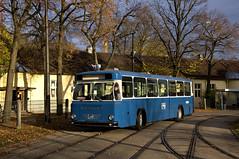 Nur in der Ausstellung wurde der alte Züricher Büssing-Bus von MAN gezeigt (Frederik Buchleitner) Tags: 10jahremvgmuseum bs110v bus büssing hauptwerkstätte m061206 man mvgmuseum munich münchen omnibus vbz zürich