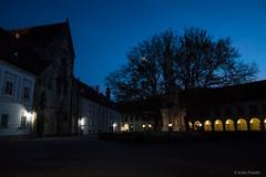 Stift Heiligenkreuz (Anita Pravits) Tags: abend cistercians heiligenkreuz kloster loweraustria niederösterreich stiftheiligenkreuz wienerwald zisterzienser abbey evening