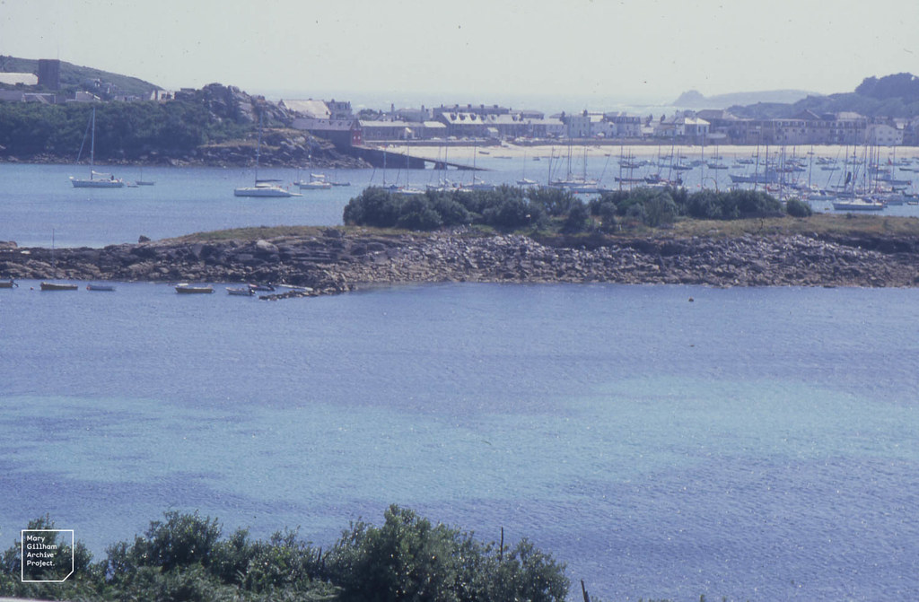 Town Bay from north of Porthloo Beach. St Marys