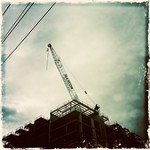 Cables, Cranes, Corners, Clouds thumbnail