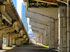 Gardiner Expressway, Toronto, Ontario (duaneschermerhorn) Tags: pillars columns support beams construction engineering highway elevated expressway traffic