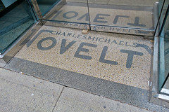 Charles Michaels Novelty, Paterson, NJ (Robby Virus) Tags: paterson newjersey nj charles michaels novelty store terrazzo entry entrance floor front door