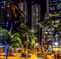Costa del Este, Panama (Bernai Velarde-Light Seeker) Tags: costadeleste urban buildings urbano edificios night noche longexposition exposicionlarga bernai velarde apartments apartamentos central centro america