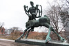 Ankerbrua (andrea.prave) Tags: oslo norway norge norvegia noruega norvège norwegen ノルウェー норвегия النرويج 挪威 オスロ осло أوسلو 奥斯陆 statue تمثال 雕像 פסל 彫像 άγαλμα estátua статуя estatua heykel scultura изваяние sculpture skulptur escultura نحت 雕塑 彫刻 ankerbrua bridge ponte
