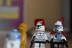 Droids (Cpt-Twig) Tags: c3po r2d2 droid clone commander jet trooper star wars