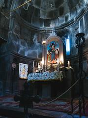 Inside Gegard Church (runovv) Tags: armenia gegard armenian church christianity religion building architecture stone mountains