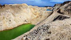 (MaRuXa fotografía) Tags: neme monte mina canon maruxa riasaltas verde azul contaminacion