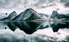 Reflect (One_Penny) Tags: adventure arctic canon6d greenland hiking landscape mountains nature northpole outdoor photography phototour travel reflection river fjord sky clouds water symmetry blue cold tones reflections snow ice glacier frozen