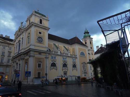 Wien, 1. Bezirk, Schottenkirche, letteralmente - la chiesa degli scozzesi, literalmente - la iglesia de los Escoceses, littéralement - l'église des écossais, literally - church of the Scots (Freyung)