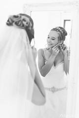 Bride getting ready mirror (Peter Goll thx for +5.000.000 views) Tags: 2017 hochzeit erlangen germany braut birde spiegel gettingready mirror bw sw portrait