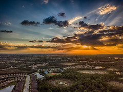 Golden Rays (DonMiller_ToGo) Tags: mavicpro hdr sunsetmadness sunset goldenhour sky outdoors skypainter aerial 3xp clouds florida