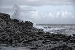 Goksøyrkyst - - Coastal weather (erlingsi) Tags: selina runde coastline goksøyr north west stormy weather vær wave haust høst autumn