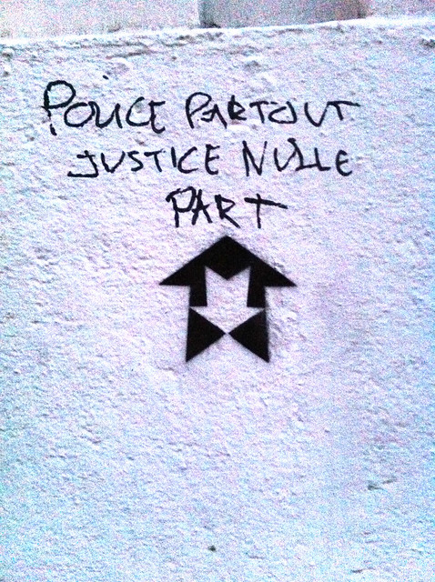police partout justice nullepart