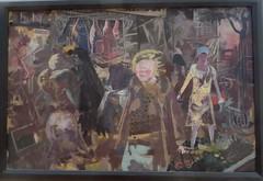 """Rue à Berlin"", 1931, George Grosz (1893-1959), Musée de Grenoble, Grenoble, Rhône-Alpes-Auvergne, France. (byb64) Tags: muséedegrenoble musée museo museum grenoble isère 38 rhônealpes dauphiné france frankreich francia europe europa eu ue xxe 20th peinture tableai painting dipinto cuadro tableau années20 grosz gerogegrosz expressionisme expressionism expressionismus rueàberlin straseinberlin berlin berlino"