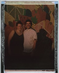 Cheeeeesin lovers (Dear Deer Fine Art) Tags: polaroid instant film expired largeformat