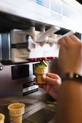 Nudo Soft Serve (1 of 7) (Spencer Pernikoff) Tags: nikon d750 sigma 3514 35mm food ice cream soft serve matcha green tea coconut sesame