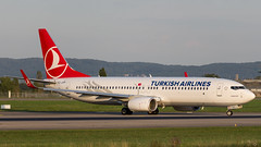 Boeing 737-8F2(WL) TC-JVP Turkish Airlines (William Musculus) Tags: 737800 basel mulhouse airport euroairport eap bsl mlh lfsb