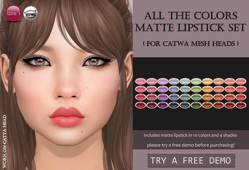 All+The+Colors+Matte+Lipstick+Set+Catwa+%28for+FLF%29