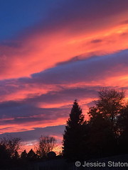 October 22, 2017 - An absolutely stuning sunet. (Jessica Staton)
