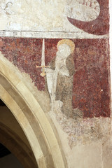 Beckley, Oxfordshire (Vitrearum (A B Barton)) Tags: wallpaintings medieval doom lastjudgement stpaul