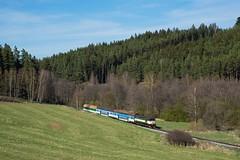 Die leise Berta 3 by Jochen Maier - Ende April ist die Vegetation im Böhmerwald noch lange nicht komplett erwacht. 749 264 hat Polna na Šumavě hinter sich gelassen.