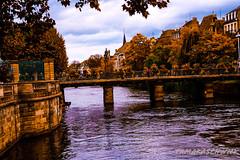Strasbourg in October (tamaraschwenk) Tags: river strasbourg france bridge