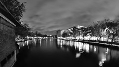 Amsterdam National Opera and Ballet (André Felipe Carvalho) Tags: amsterdam holanda noite night streetphotography street blackwhite preto branco