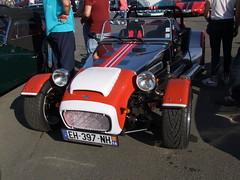 Pilgrim seven replica (chrispit1955) Tags: automedon eh397nh seven lotus 7 roadster auto car