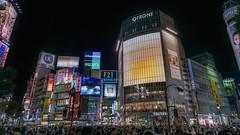 Shibuya crossing (karinavera) Tags: city night photography urban ilcea7m2 shibuya japan street across tokyo crossing