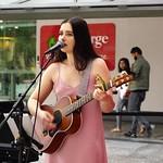 Hayley Wilson Singing Brisbane Queen St Mall-3 thumbnail