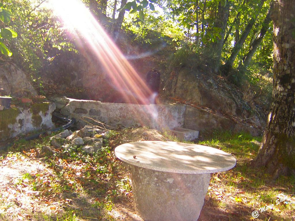 Águas Frias (Chaves) - ... raios de luz ...