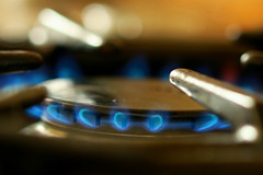 Cooking With Gas ... (acwills2014) Tags: macro mondays inthekitchen blue gas ring hob