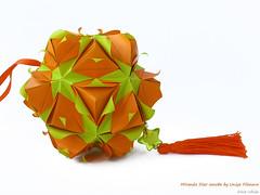 Miranda Star sonobe by Uniya Filonova (irina_chisa) Tags: origami kusudama