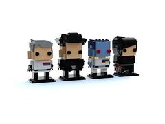 Star Wars Brickheadz: Evil People. (Noah Ridenour) Tags: brickheadz star wars
