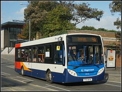 37111 (Jason 87030) Tags: stagecoach midlands enviro e200 railway station bus road 91 duston towncentre 37111 yy14wfb sony ilce alpha a6000 nex lens tag flickr blue white red orange colors cpolours stop burger bigmac advert scene northants northamptonshire october 2017 rare pretty exclusive capture explore exist amazing pro amateur snap photo super great fantastic world bright light art photograph new trip uk sky travel sweet yummy bestoftheday smile picoftheday life allshots look nice likes lol photostream
