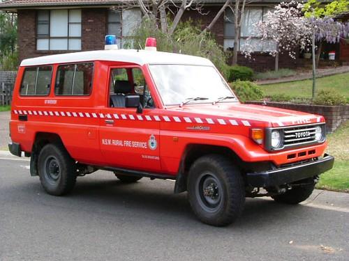 HZJ 78-fire service