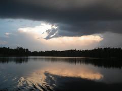 18-08-2017 Huronian - 28 (s.kosoris) Tags: skosoris pentaxoptiowg1 wg1 pentax huronian camp camping water lake sunset