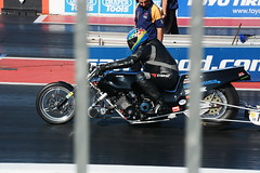 National Finals_6748 (Fast an' Bulbous) Tags: dragbike drag race bike biker moto motorcycle motorsport fast speed power acceleration people outdoor nikon d7100 gimp santa pod