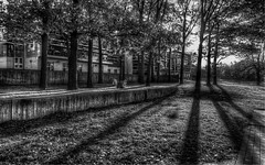 ++ (DeZ - photolores) Tags: guelphcanada universityofguelph uofg monochrome bw blackandwhite bnw hdr contrast shadows dez