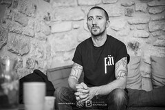 Amenra (Philippe Bareille) Tags: amenra colinhvaneeckhout portrait singer frontman promotion paris france music canoneos6d eos 6d artist rock musicwavesfr 2017 monochrome blackandwhite bw