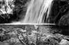 Ovarda's Waterfall (Bertalberto) Tags: lemie cascatadovarda landscape panorama piemonte piedmont italia italy biancoenero bw vallidilanzo vallediviù autorevuenon