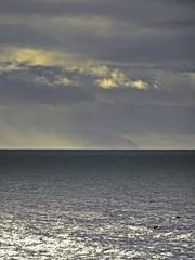 Murky Milestone (Bricheno) Tags: troon ayrshire sunset ailsacraig night autumn clyde riverclyde bricheno ayrshirecoast scotland escocia schottland écosse scozia escòcia szkocja scoția 蘇格蘭 स्कॉटलैंड σκωτία